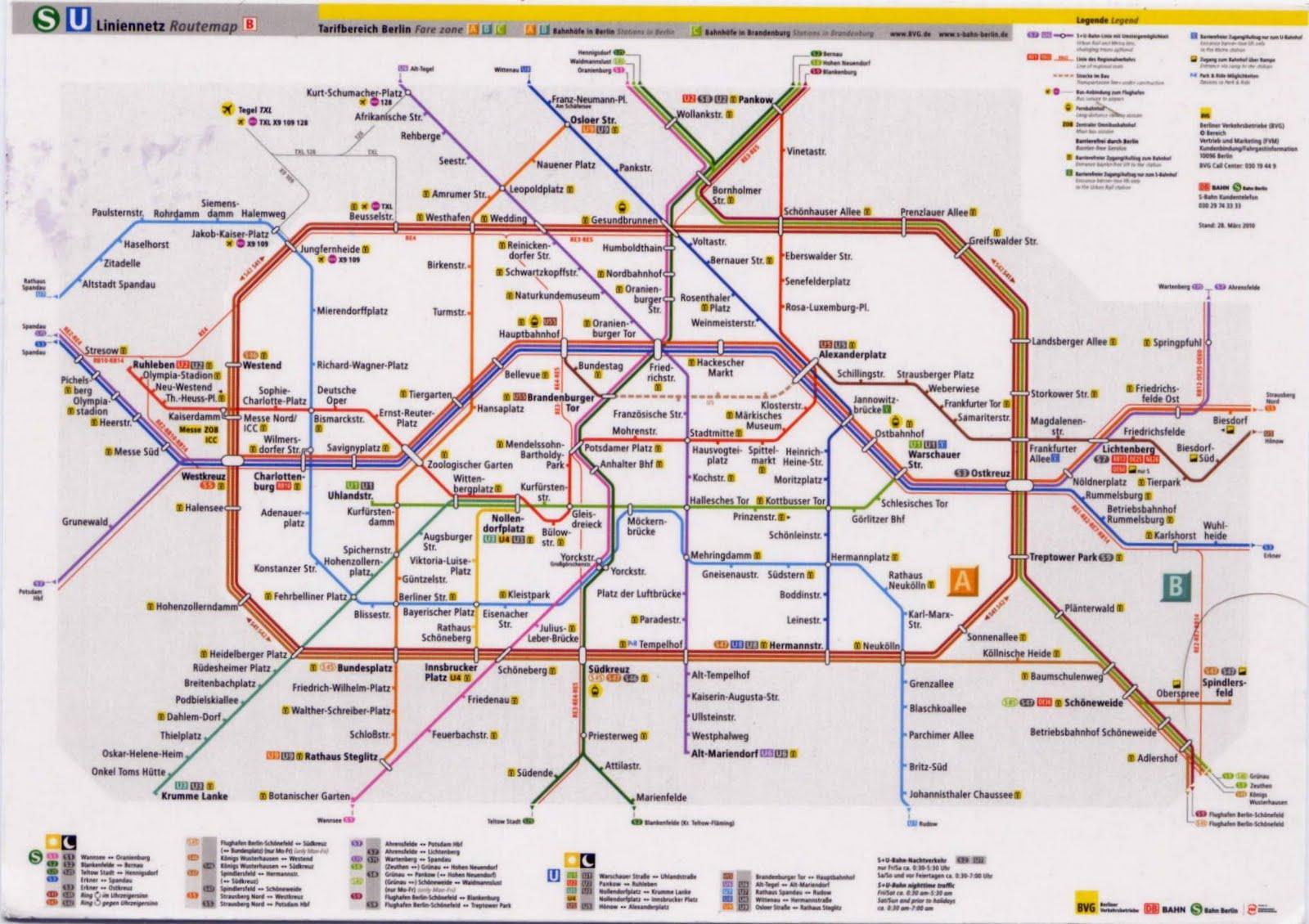 Metro Karte Berlin | goudenelftal